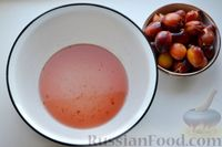Фото приготовления рецепта: Варенье из слив, фаршированных грецкими орехами - шаг №12