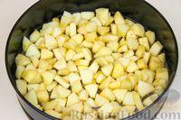 Фото приготовления рецепта: Постная шарлотка с яблоками - шаг №5