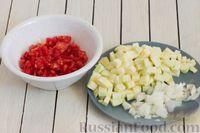 Фото приготовления рецепта: Овощной суп с чечевицей - шаг №5