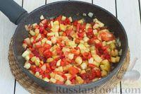 Фото приготовления рецепта: Овощной суп с чечевицей - шаг №7