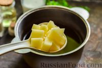 Фото приготовления рецепта: Сливочный суп  с мясными фрикадельками - шаг №4