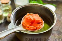 Фото приготовления рецепта: Сливочный суп  с мясными фрикадельками - шаг №5