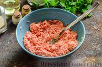 Фото приготовления рецепта: Сливочный суп  с мясными фрикадельками - шаг №8