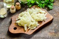 Фото приготовления рецепта: Сливочный суп  с мясными фрикадельками - шаг №10