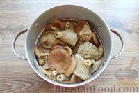 Фото приготовления рецепта: Солёные волнушки (на зиму) - шаг №3