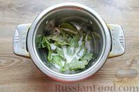 Фото приготовления рецепта: Солёные волнушки (на зиму) - шаг №6