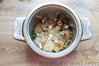 Фото приготовления рецепта: Солёные волнушки (на зиму) - шаг №8