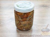 Фото приготовления рецепта: Солёные волнушки (на зиму) - шаг №16