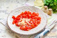 Фото приготовления рецепта: Баклажаны с тушёнкой и помидорами - шаг №3