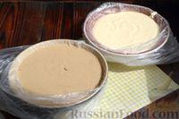 """Фото приготовления рецепта: Кофейно-ванильная творожная запеканка """"Зебра"""" - шаг №5"""