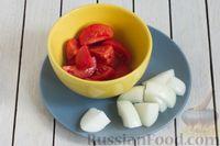 Фото приготовления рецепта: Чечевичный суп-пюре с помидорами - шаг №3