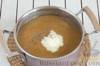 Фото приготовления рецепта: Чечевичный суп-пюре с помидорами - шаг №9