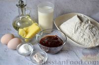 Фото приготовления рецепта: Булочки-гребешки с повидлом - шаг №1