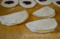 Фото приготовления рецепта: Булочки-гребешки с повидлом - шаг №19