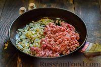 Фото приготовления рецепта: Запеканка из капусты с мясным фаршем (в духовке) - шаг №3