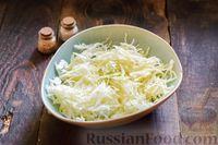 Фото приготовления рецепта: Запеканка из капусты с мясным фаршем (в духовке) - шаг №7