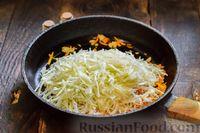 Фото приготовления рецепта: Запеканка из капусты с мясным фаршем (в духовке) - шаг №9