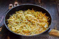 Фото приготовления рецепта: Запеканка из капусты с мясным фаршем (в духовке) - шаг №10