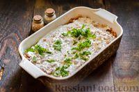 Фото приготовления рецепта: Запеканка из капусты с мясным фаршем (в духовке) - шаг №15
