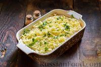 Фото приготовления рецепта: Запеканка из капусты с мясным фаршем (в духовке) - шаг №17