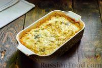 Фото приготовления рецепта: Запеканка из капусты с мясным фаршем (в духовке) - шаг №18