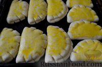Фото приготовления рецепта: Булочки-гребешки с повидлом - шаг №22