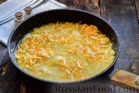 Фото приготовления рецепта: Мясные фрикадельки, запечённые в луково-морковном соусе - шаг №11