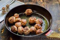 Фото приготовления рецепта: Мясные фрикадельки, запечённые в луково-морковном соусе - шаг №14