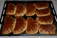 Фото приготовления рецепта: Булочки-гребешки с повидлом - шаг №23