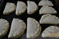Фото приготовления рецепта: Булочки-гребешки с повидлом - шаг №21