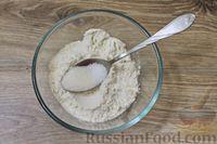 Фото приготовления рецепта: Дрожжевые пирожки с куриными желудочками и кабачками - шаг №6