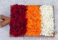Фото приготовления рецепта: Капустная запеканка с морковью и свёклой - шаг №3