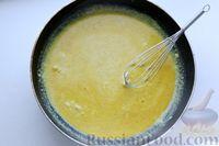 Фото приготовления рецепта: Отварной картофель, запечённый с куриным фаршем, под сливочно-сырным соусом - шаг №14