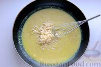 Фото приготовления рецепта: Отварной картофель, запечённый с куриным фаршем, под сливочно-сырным соусом - шаг №15