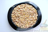 Фото приготовления рецепта: Отварной картофель, запечённый с куриным фаршем, под сливочно-сырным соусом - шаг №19