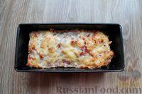 Фото приготовления рецепта: Запеканка из свиного фарша с кабачками, рисом и брусникой - шаг №12