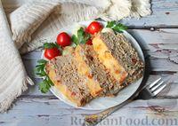 Фото приготовления рецепта: Запеканка из свиного фарша с кабачками, рисом и брусникой - шаг №13