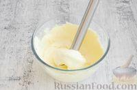 Фото приготовления рецепта: Творожная запеканка с яблоком (в микроволновке) - шаг №3