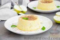 Фото приготовления рецепта: Творожная запеканка с яблоком (в микроволновке) - шаг №8