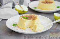 Фото приготовления рецепта: Творожная запеканка с яблоком (в микроволновке) - шаг №9