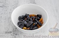 Фото приготовления рецепта: Конфеты из овсяных хлопьев с изюмом, черносливом и орехами - шаг №2