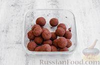 Фото приготовления рецепта: Конфеты из овсяных хлопьев с изюмом, черносливом и орехами - шаг №12