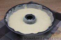 Фото приготовления рецепта: Лимонный манник на кефире (без муки) - шаг №11
