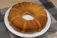 Фото приготовления рецепта: Лимонный манник на кефире (без муки) - шаг №13