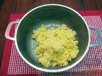 Фото приготовления рецепта: Молочный суп с пшеном - шаг №5