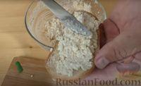 Фото приготовления рецепта: Гренки с творожной начинкой - шаг №4