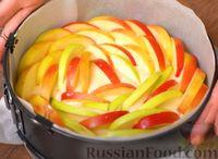 Фото приготовления рецепта: Яблочный пирог на скорую руку - шаг №7