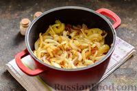 Фото приготовления рецепта: Тушёная говядина в соусе из помидоров - шаг №12