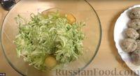 Фото приготовления рецепта: Запеканка из кабачков с фрикадельками - шаг №4