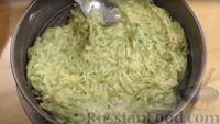 Фото приготовления рецепта: Запеканка из кабачков с фрикадельками - шаг №6